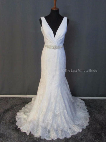 100% Authentic Allure 9410 Wedding Dress