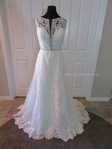 100% Authentic Cristiano Lucci 13063 Judy Wedding Dress
