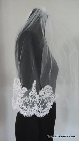 Jennifer Leigh Couture Bridal Veil Style: Jaime Christine