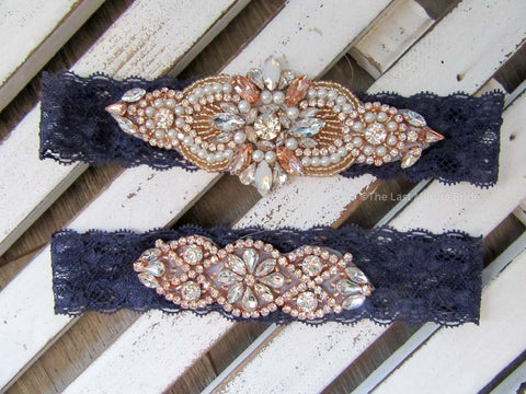 Bridal Garter Style: Moonlight Serenade (Set)