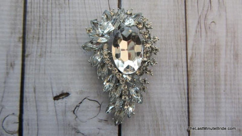 Make a Statement Brooch