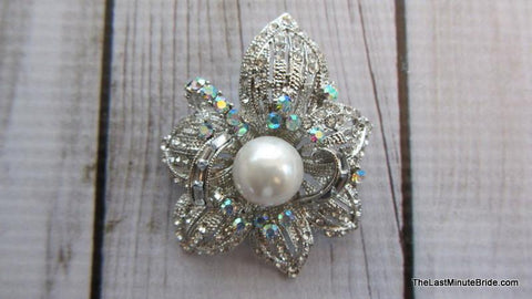 Flower in Bloom Brooch