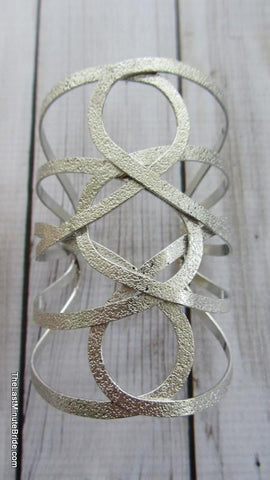 Metal Swirl Cuff (more colors)