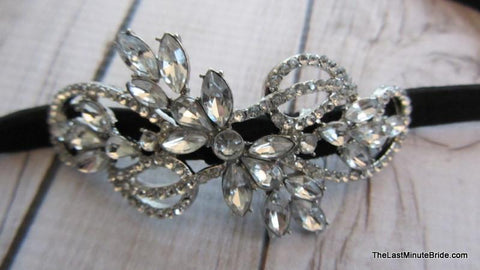 Rhinestone Accent Headband