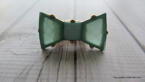 Bow Tie Stretch Ring (more colors)