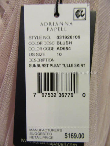 Adrianna Papell 031926100/120 Size 10