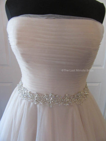 Strapless (Straight Across) Wedding Dress