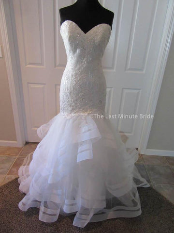 100% Authentic Allure 9364 wedding dress from The Last Minute Bride.