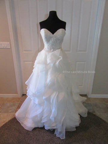100% Authentic Allure Bridal Style 2905 Wedding Dress