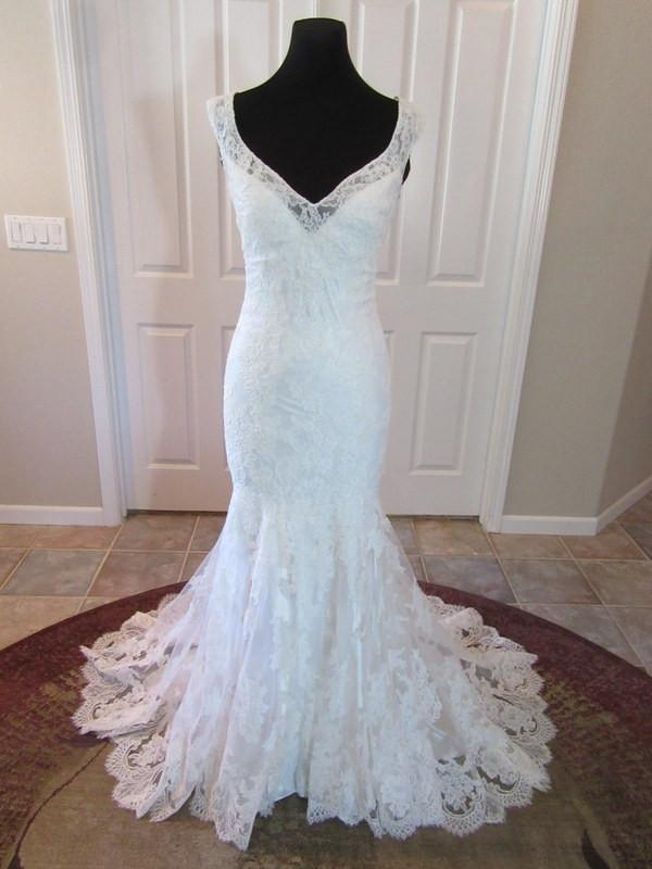 Allure Bridals 2800 Ivory size 10 - The Last Minute Bride