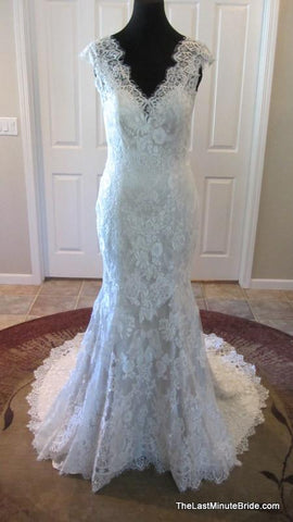 100% Authentic Allure 9068 Wedding Dress