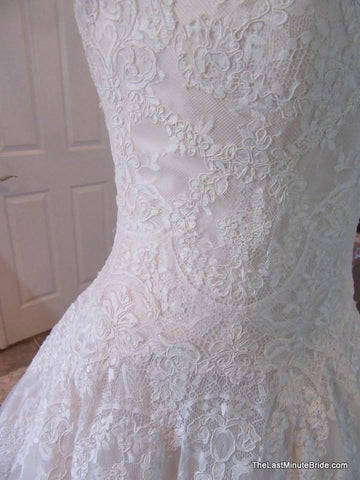 Allure Bridals 9121 size 16