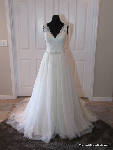 Bridal gowns the last minute bride for Last minute wedding dress