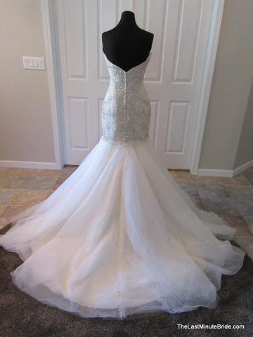 Allure Bridals C362 Light Gold 8