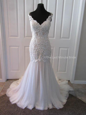 100% Authentic Ashley & Justin Style 10517 from The Last Minute Bride.