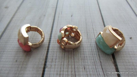 Angled Stretch Ring (more colors)