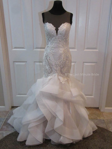 100% Authentic Blakely Marie by The Last Minute Bride Wedding Dress