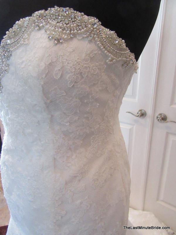 Enzoani huntsville the last minute bride for Wedding dress shops in huntsville al