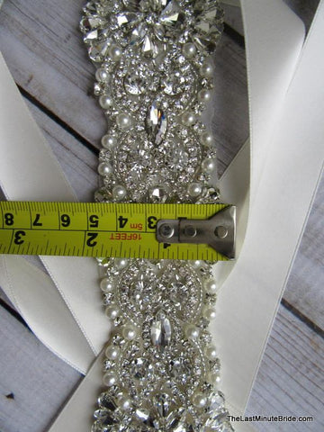 Rhinestone Beaded Belt Style: Catalina 13 inches