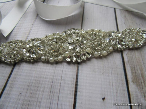 Rhinestone Beaded Belt Style: Catalina 7.5 inches
