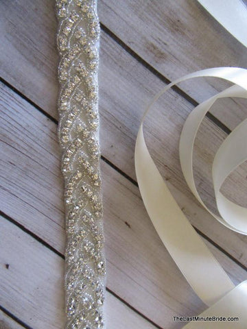 Rhinestone Beaded Belt Style: Venice