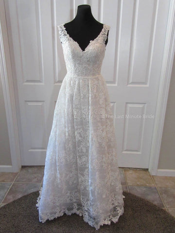 Made to Order 100% Authentic Hannah by Last Minute Bride Wedding Dress