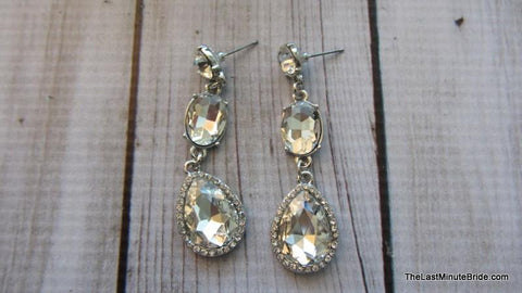 Sparkle Tear Drop Earrings (more colors)