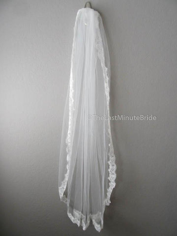 The Last Minute Bride Veil Style #5F-Chantilly