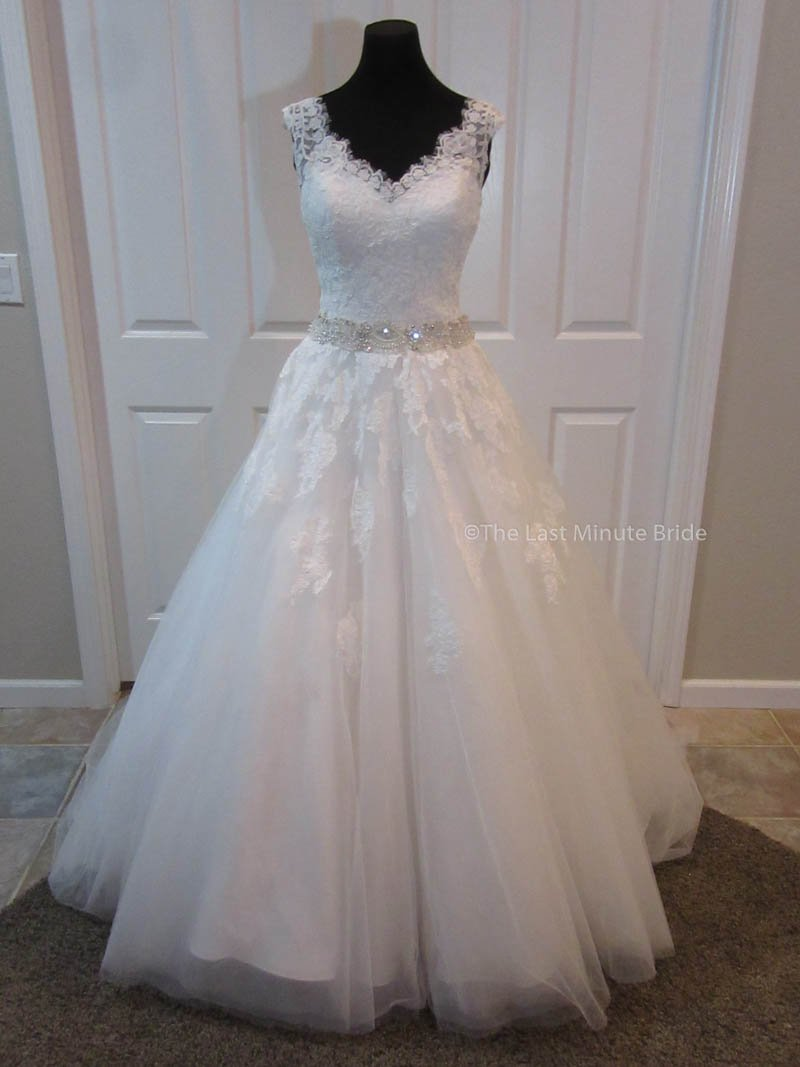 Ordinaire ... 100% Authentic Charlotte From The Last Minute Bride Wedding Dress ...
