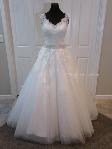 Made to Order 100% Authentic Charlotte from The Last Minute Bride Wedding Dress