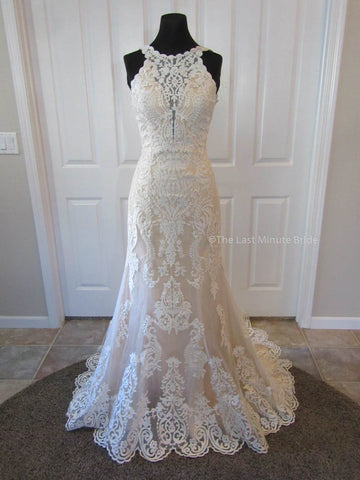100% Authentic Chloe by The Last Minute Bride Wedding Dress