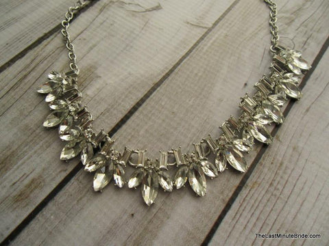 Tear Drop Sparkle Necklace