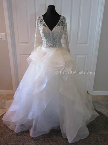 "100% Authentic Cristiano Lucci Style 13092 ""Luna"" Wedding Dress from The Last Minute Bride."