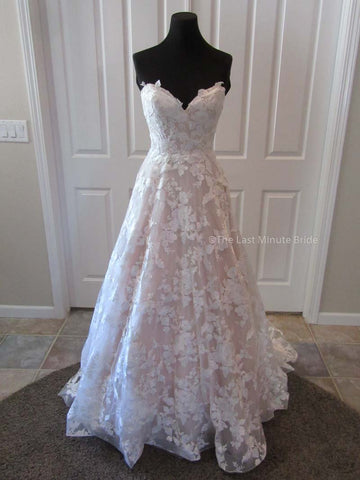 Made to Order 100% Authentic Candice Marie by Last Minute Bride Wedding Dress