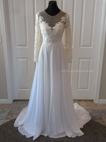 Made to Order 100% Authentic Katrina by The Last Minute Bride Wedding Dress