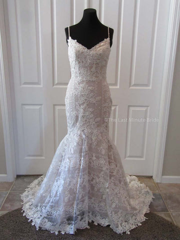 Made to Order 100% Authentic Autumn by Last Minute Bride Wedding Dress