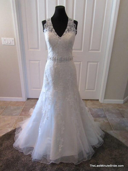Ella rosa by kenneth winston be312 sold out the last for Last minute wedding dress