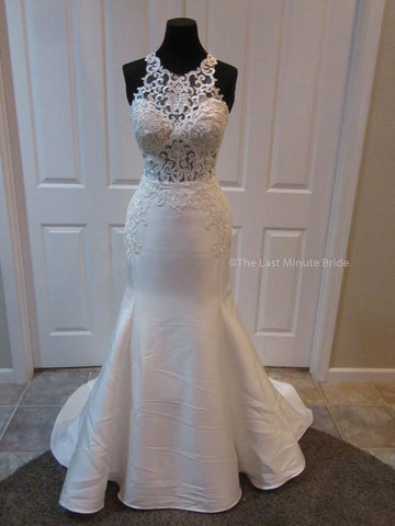 100% Authentic Essense of Australia D2336 Wedding Dress