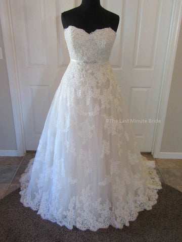 100% Authentic Franssical F1621 Wedding Dress