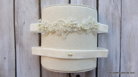 Bridal Garter Style: Twitterpated (Set)