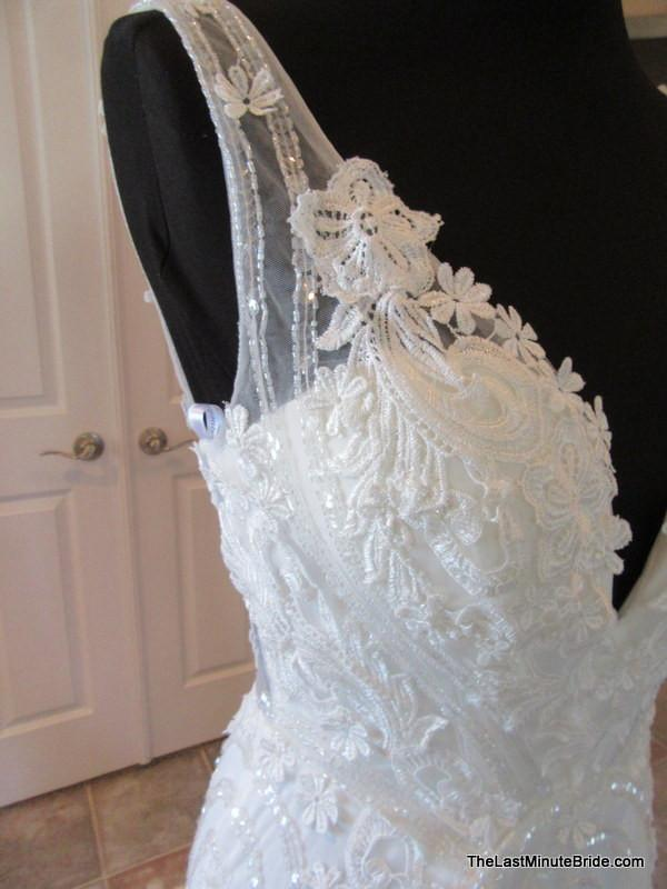 Jacquelin Exclusive Miki Sold - The Last Minute Bride