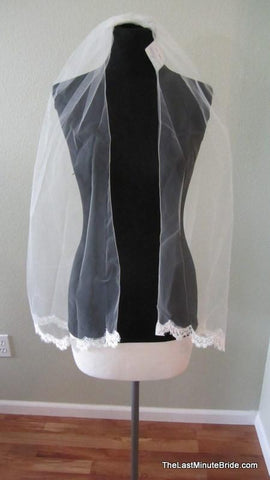 Jennifer Leigh Couture Bridal Veil Style: Piper