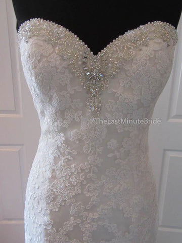 30.5 Waist Wedding Dress