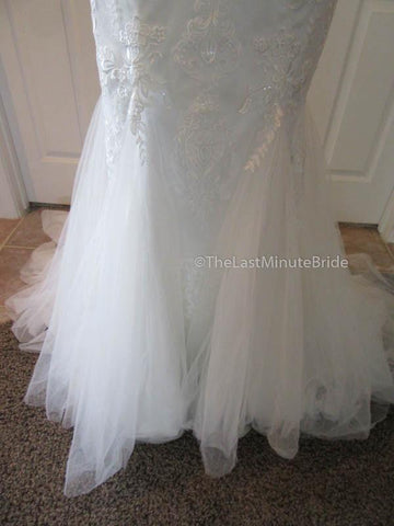 Color Toffee Wedding Dress