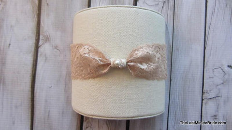 Bridal Garter Style: Tickeled Pink (Set)