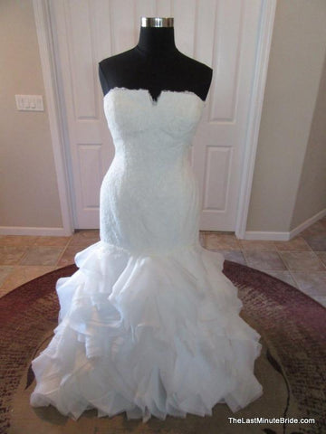 49.5 Hips Wedding Dress