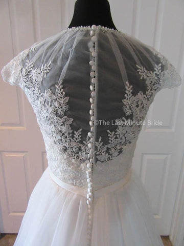 Sheer Back Style Wedding Dress