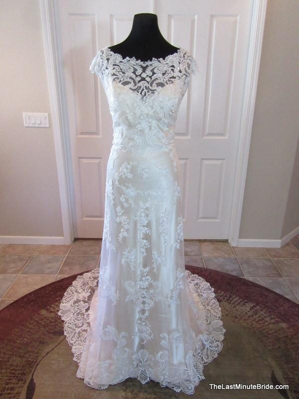 Maggie Sottero Francesca 4MS997 sold out - The Last Minute Bride