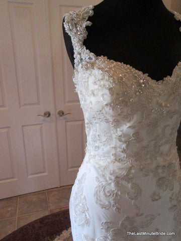 Maggie Sottero Jade 5MD056 size 8