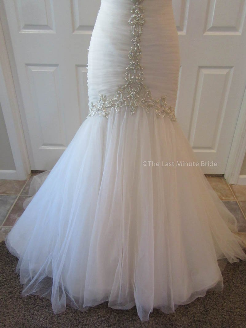 Maggie Sottero Cerise 5MD677 Iv size 10 - The Last Minute Bride